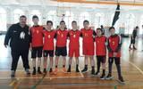 El Equipo de Parral de infantil mayor varonil, subcampeón de la Copa Vaqueros de Voleibol. /Foto: Cortesía