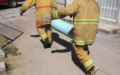 bomberos fuga de gas