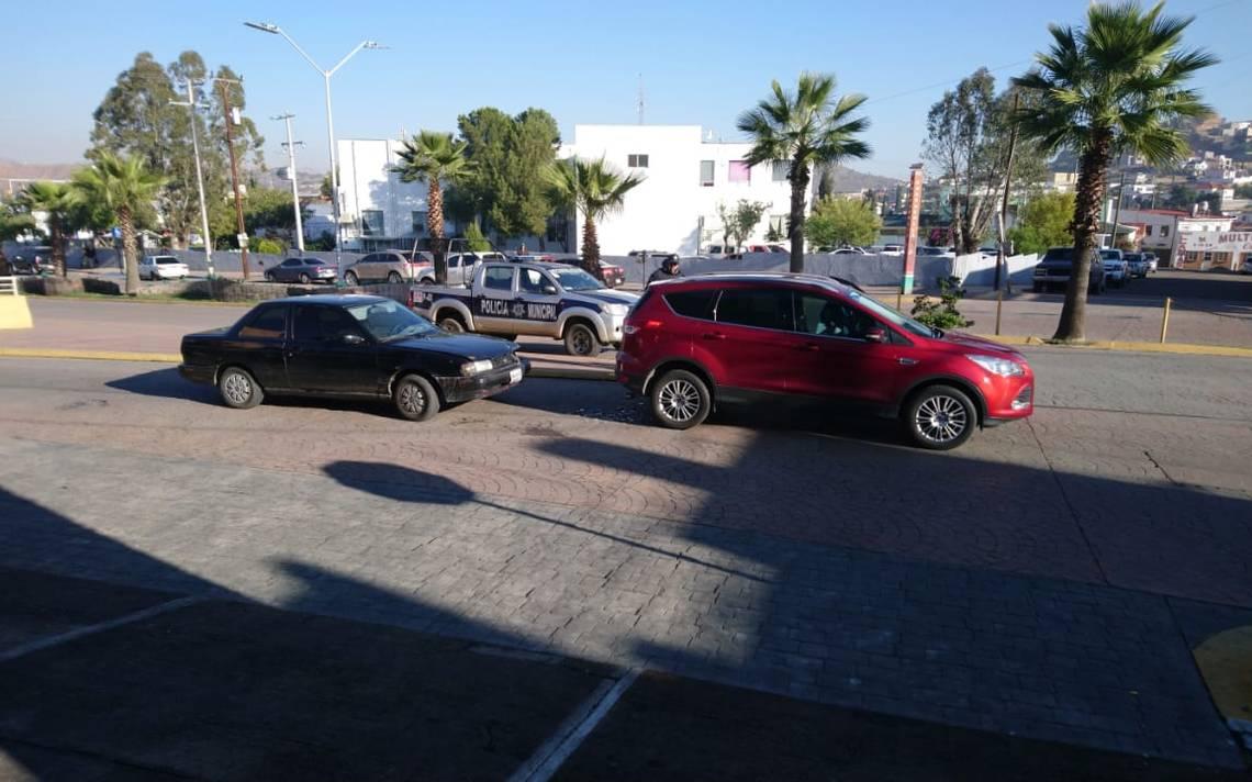 Choque alcance en Independencia y calle Del Rayo - El Sol de Parral